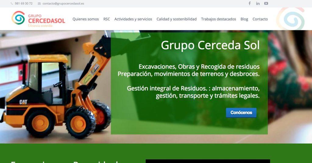 Nueva web Grupo CercedaSol